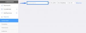 Módulo de reportes Exportar a Excel