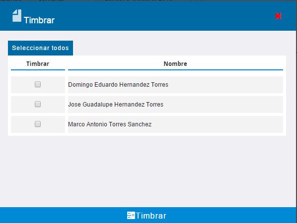 TIMBRADO 2