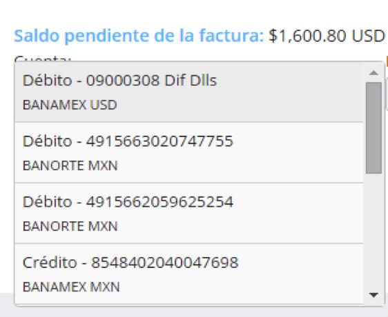 validar factura de dolares
