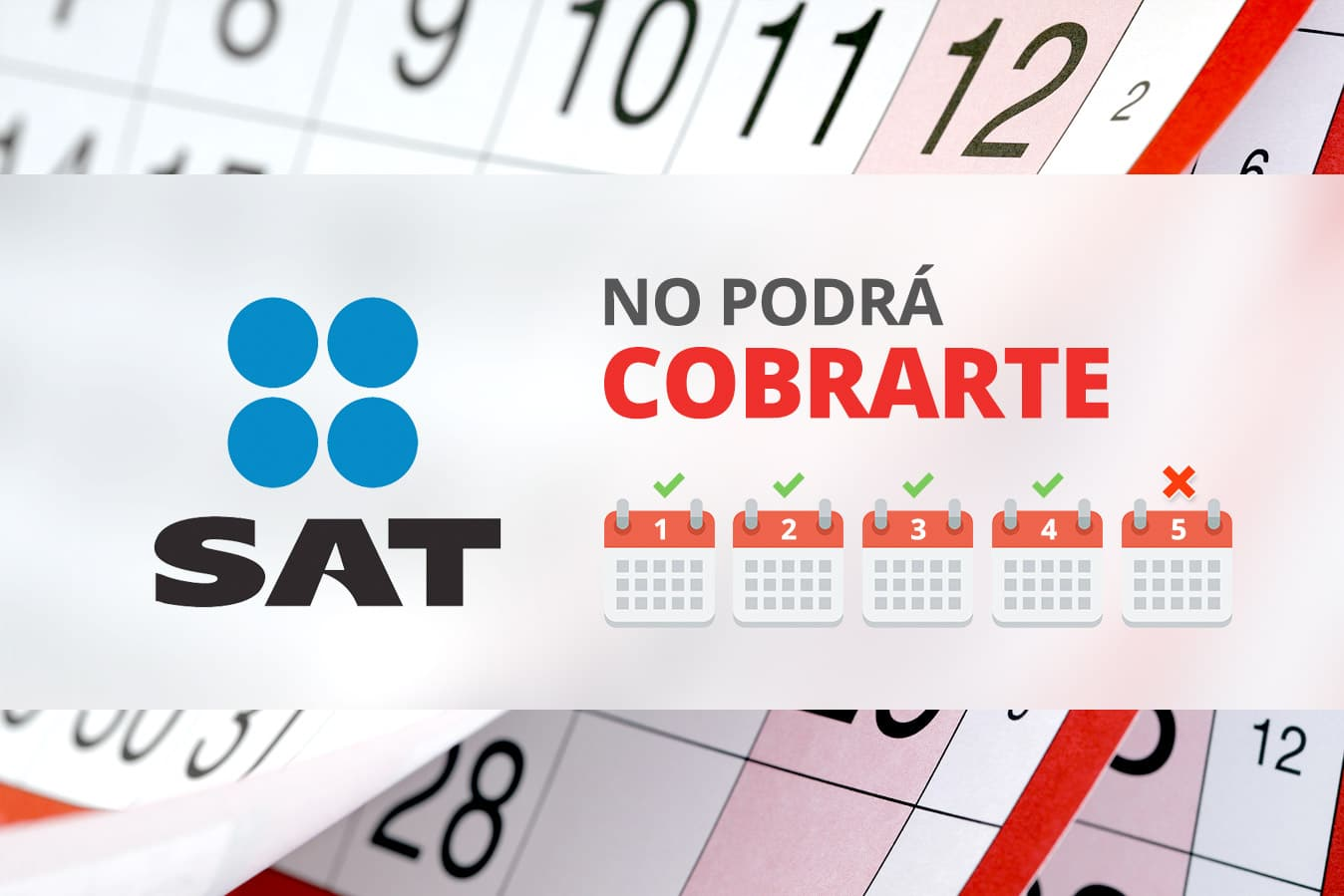 sat no podra cobrarte