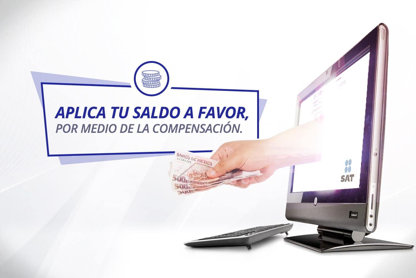 En la regla 2.3.10. de la miscelánea fiscal establece requisitos y formas para presentar para la compensación del saldo a favor o del pago de lo indebido.