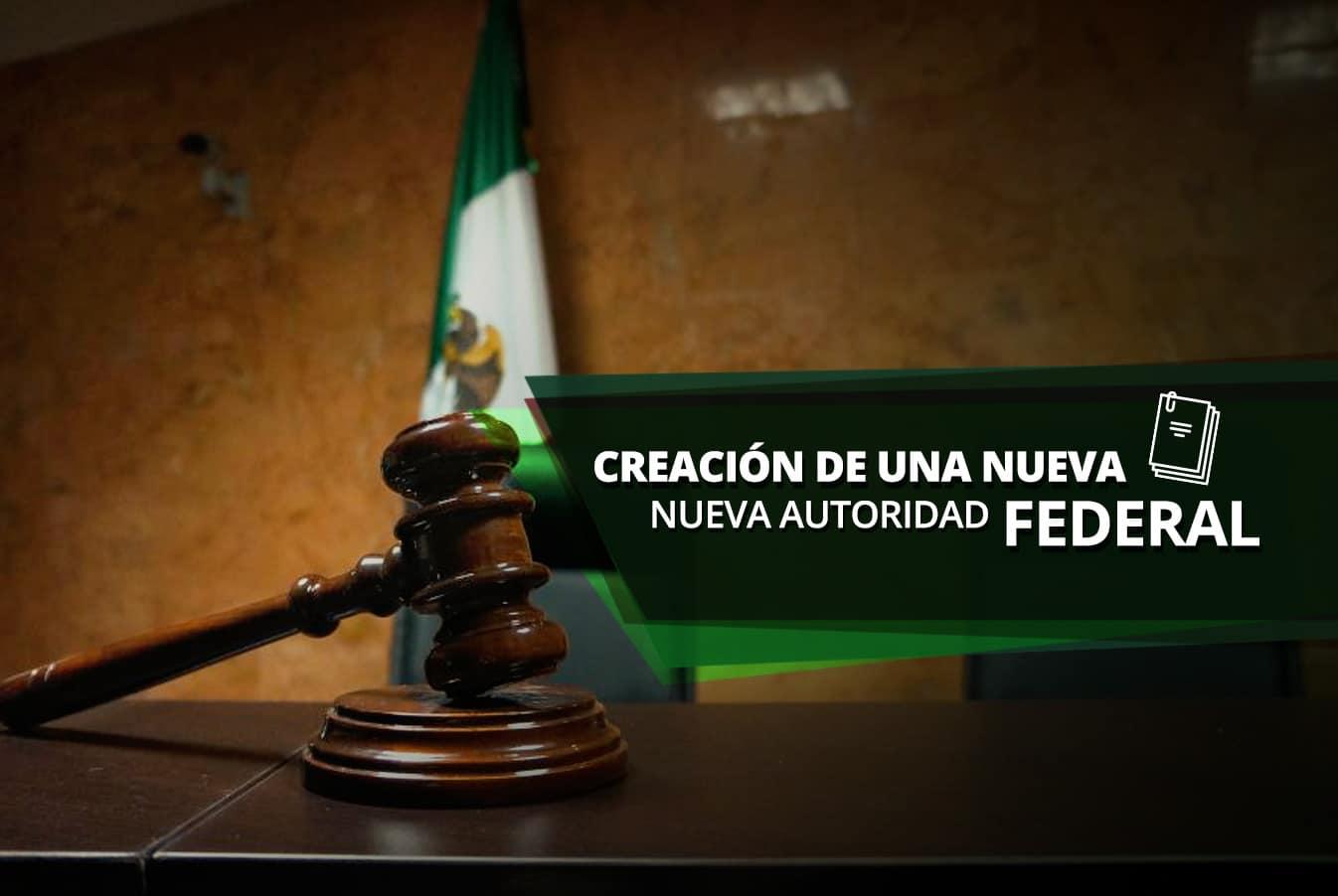 Creación nueva autoridad federal