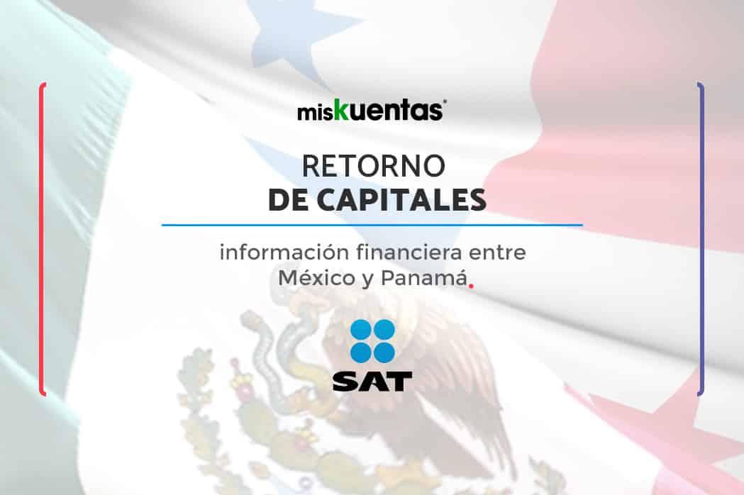 México y Panamá han firmado un acuerdo para realizar un intercambio automático de información financiera, buscando el retorno de capitales