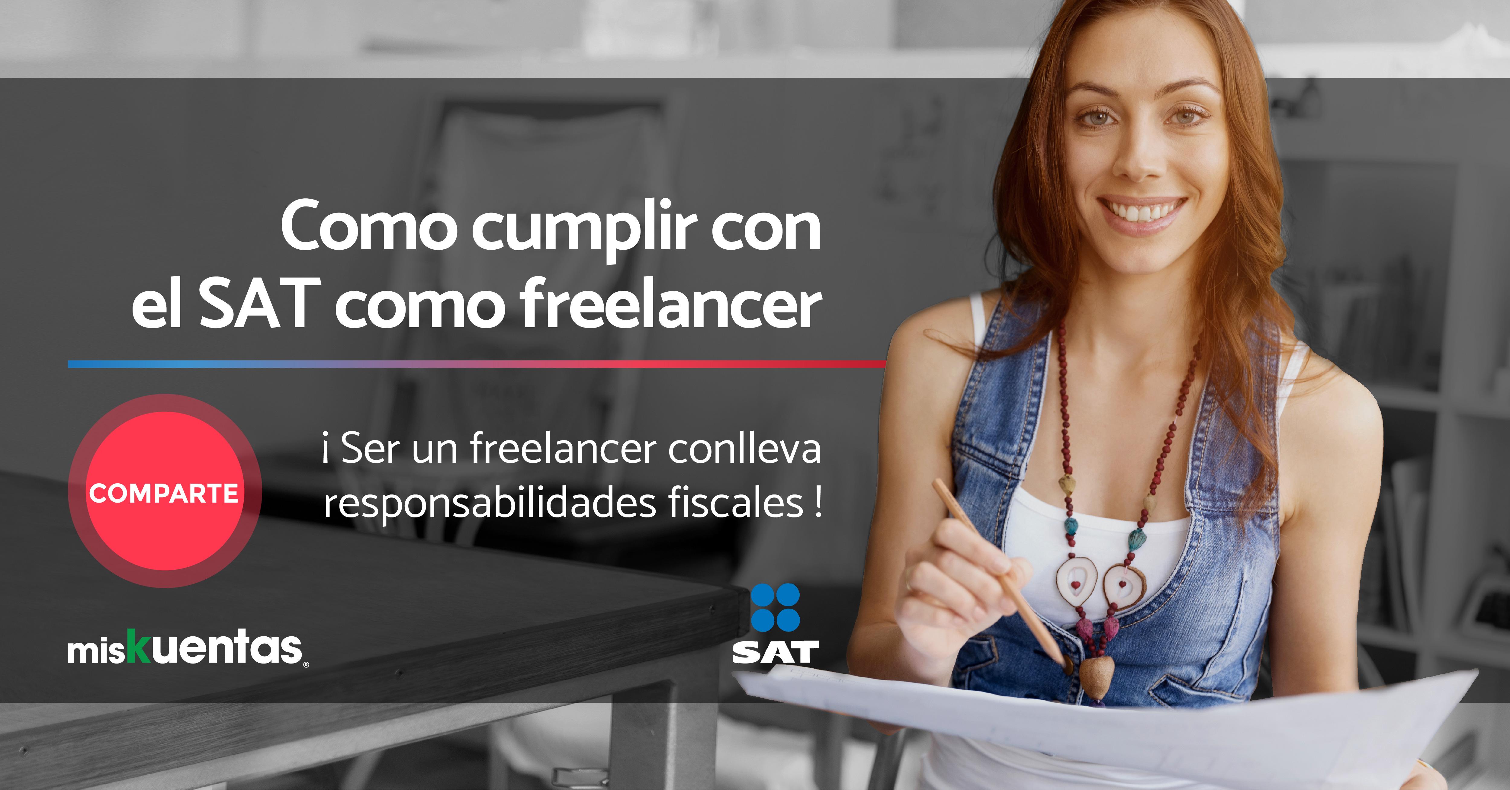 30% de los mexicanos trabajan de manera independiente, ser un freelancer conlleva responsabilidades fiscales a través de los CFDI.
