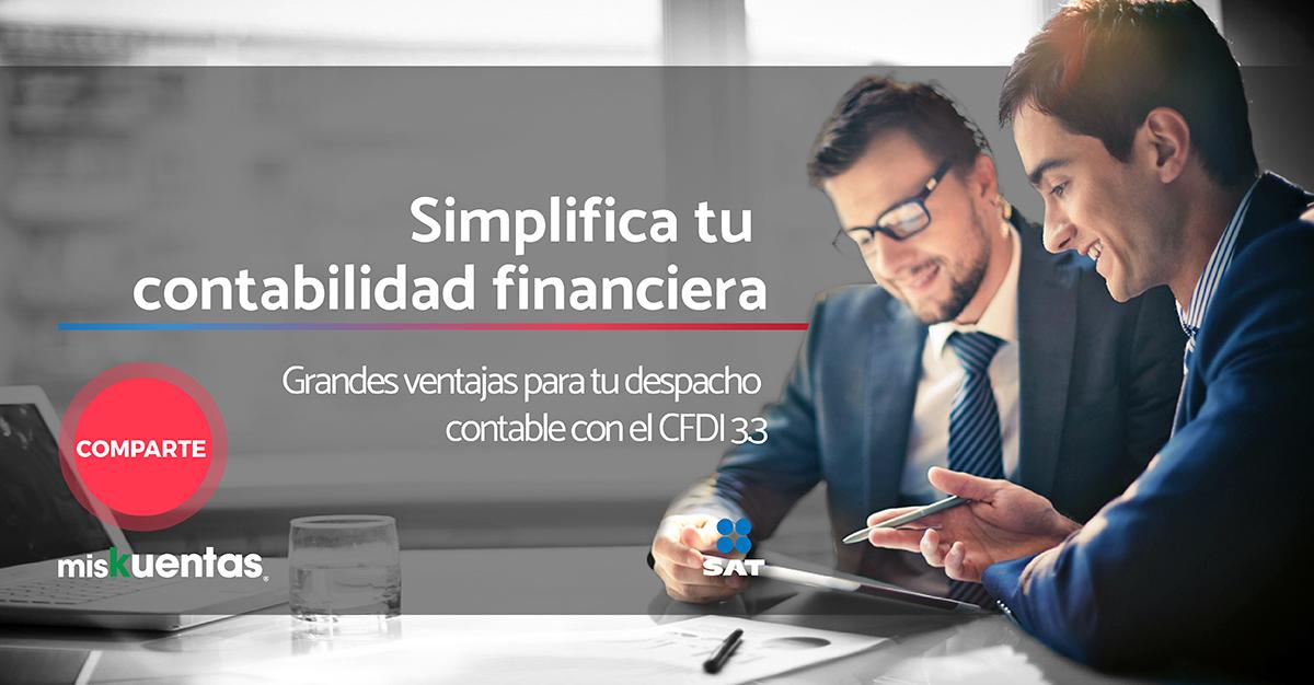 Muchos procesos de tu contabilidad financiera se optimizarán con la implementación de la nueva versión de CFDI.