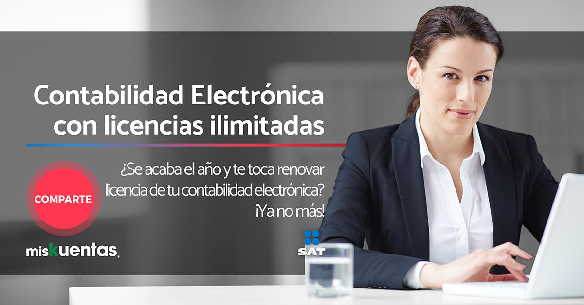 Contabilidad Electrónica con licencias ilimitadas