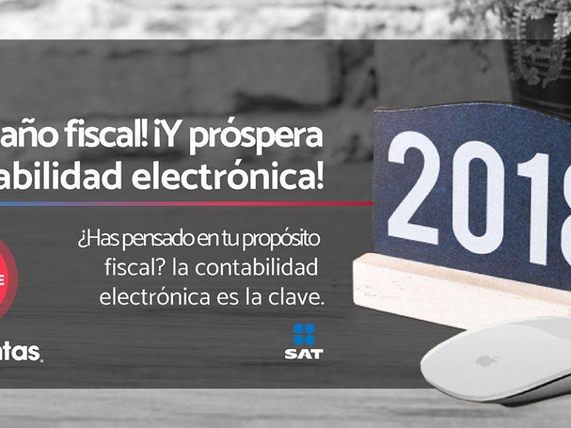 ¿Has pensado en tu propósito fiscal? Si ya lo has contemplado entonces sabes que la contabilidad electrónica es la clave