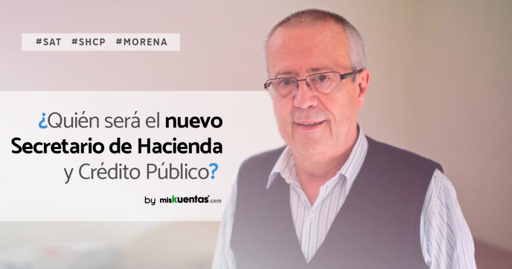 Carlos Manuel Urzúa es quien desempeñará el papel de próximo Secretario de Hacienda y Crédito Público en el gobierno de AMLO