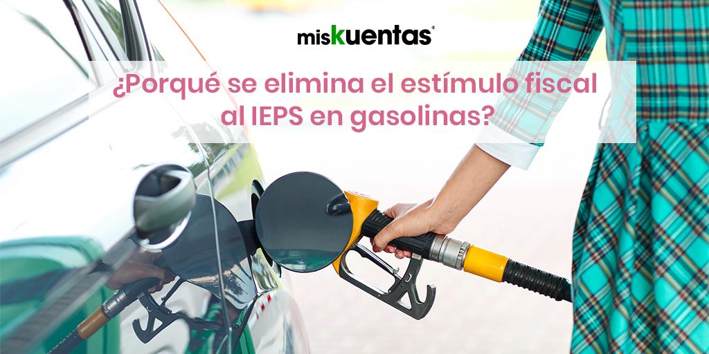 SHCP retira el estimulo fiscal al IEPS que aplica a las gasolinas y el diésel