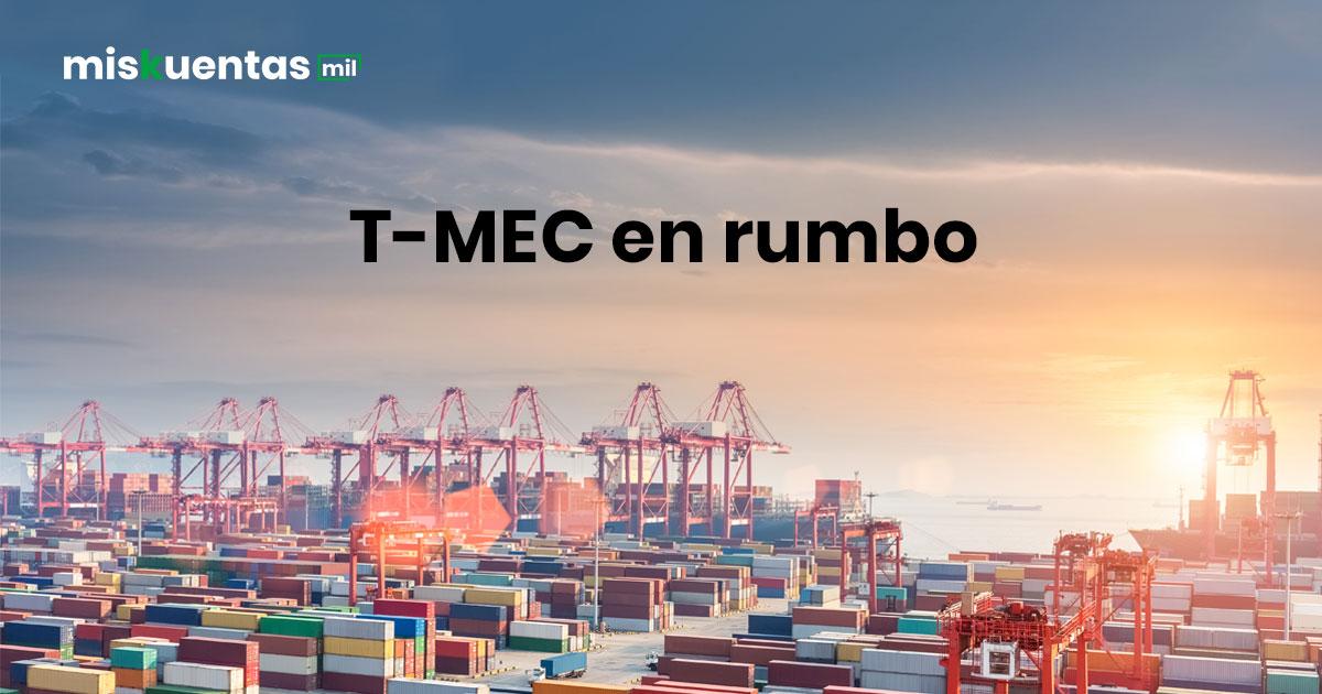 """""""El T-MEC vuelve a tomar rumbo, el 17 de mayo Estados Unidos anuncia el fin a los aranceles al aluminio y acero provenientes de México y Canadá"""""""