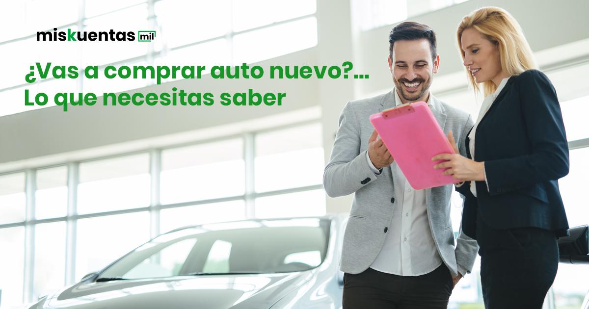 Aparte del costo del auto nuevo hay que pagar algunos impuestos antes de llevártelo a casa