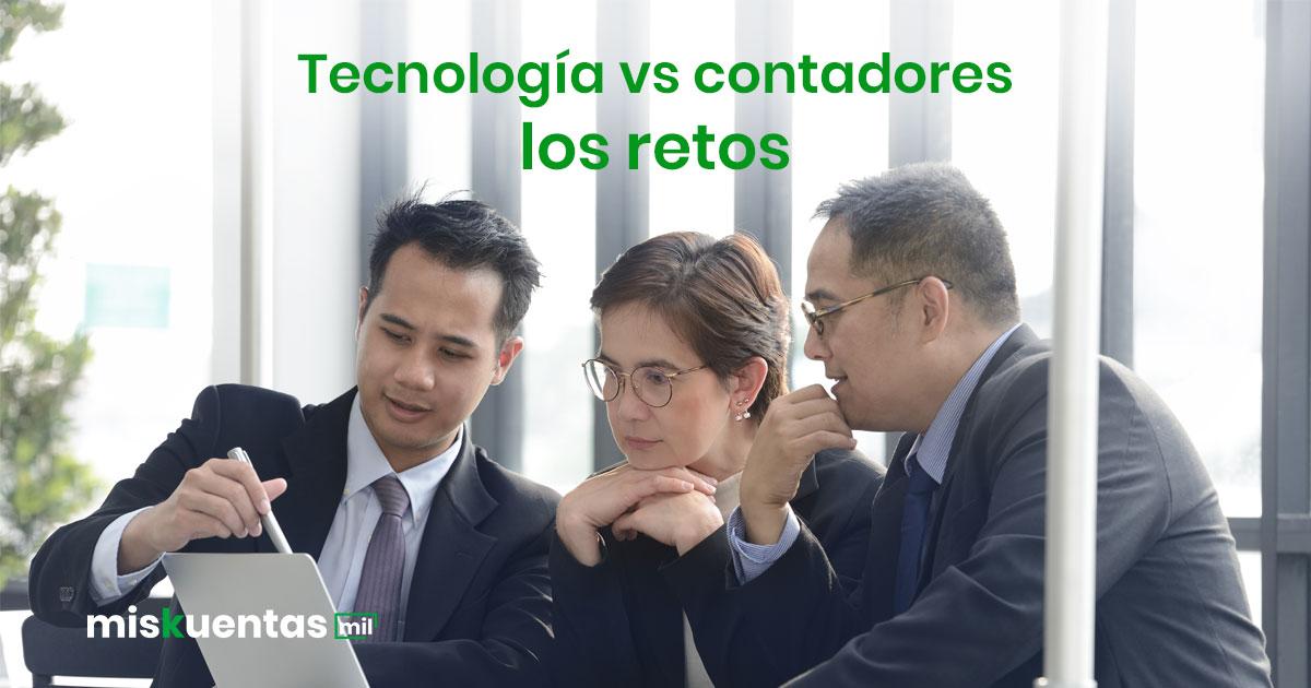 El uso de la tecnología contable nos asegura la disminución de los errores humanos, mayor eficiencia y mayores resultados en menos tiempo
