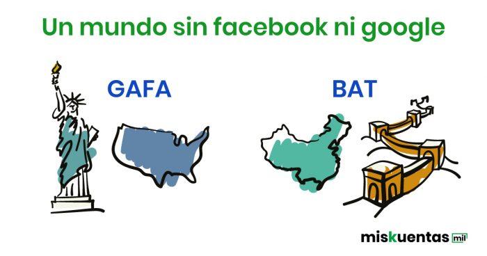China, un país sin Google ni Facebook