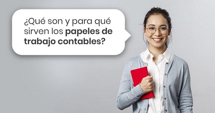 Los papeles de trabajo se generan a partir del registro contable, se usan para realizar un análisis o examinar los movimientos contables de una empresa